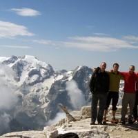 U Dolomitima 17 RAK-ovaca ispenjalo preko 4.000 metara smjerova!