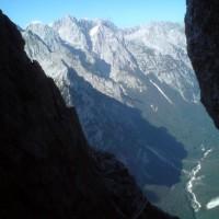 Sjeverna triglavska stijena, Helba – Čopov steber